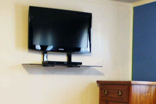 Bedroom ideas for wall mount TVs