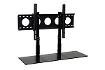 SALE - 3' TV Smart Shelf™ and Medium Wall Mount - Black Glass