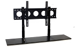 SALE - 4' TV Smart Shelf™ and Medium Wall Mount - Black Glass