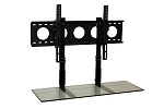 SALE - 3' TV Smart Shelf™ and Medium Wall Mount - Clear Glass