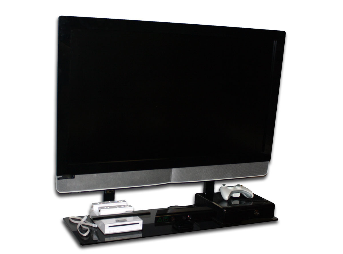 flat screen tv with a mount and shelf blog. Black Bedroom Furniture Sets. Home Design Ideas