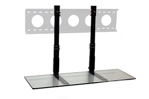 3' TV Smart Shelf™ - Clear Glass