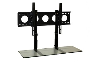 FALL SPECIAL - 3' TV Smart Shelf™ and Medium Wall Mount - Clear Glass
