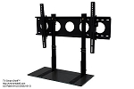 Combo Pack - 2' TV Smart Shelf™ and Wall Mount - Black Glass