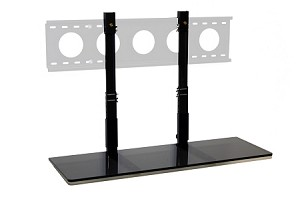 3' TV Smart Shelf° - Black Glass